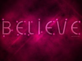 BELIEVE by Textuts