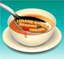 Graphic Design Soup by QuicheLoraine