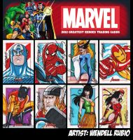 Marvel Greatest Heroes 2012 by wendellrubio