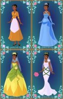 Princess Tiana's Wardrobe by LadyAquanine73551