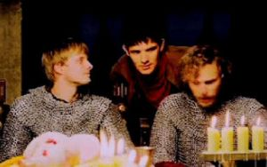 Arthur and Merlin | GIF | by stasiabv