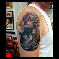 Dragon Tattoo by kshandor