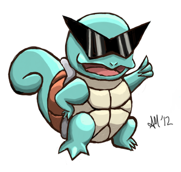Squirtle Shades by bosoxbabe17
