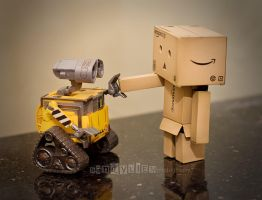 First meet with Wall-E by 800ZZ