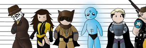 Watchmen by spot1the2dog3