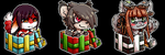 Christmas Icons! [OPEN] by CaptainTigglesworth