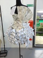 paper dress by purple-rain018