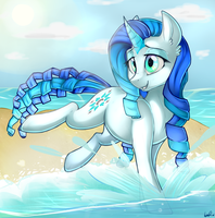 :COMMISSION: Aqua Wish by ShyShyOctavia