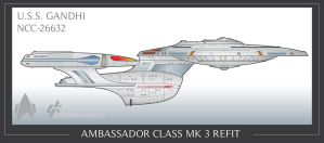 Ambassador Mk 3 Side view by Galen82