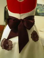 Wearable Art Dress Back View by Groovygirlsuzy17
