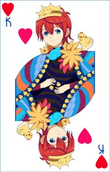 GAIA ONLINE: Peyo - King of Hearts by BOMB4Y