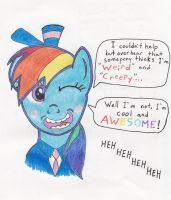 Rainbow dash the Conductor by PerfectZer0