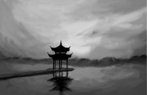 China Landscape by Mitones