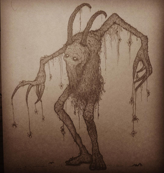 Some creepy creature by valleytroll