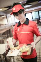 The Devil Is a Part-Timer!  Sadao Maou by Will-Cosplayer