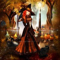 Halloween Magic by SharonLeggDigitalArt