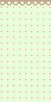 Free Honeydew Hearts Custom Background by mochatchi
