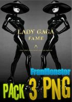 The Fame Perfum Lady Gaga ~ Pack 3 PNGs by StrongAsLion