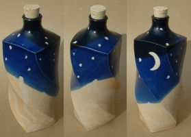 Sun and Moon Bottle by J-Knez