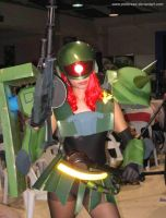 Mobile Suit Girl Zaku 9 by polidread