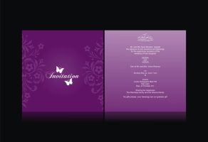 Wedding Invitation Card by syedmaaz