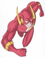 The Flash- Coming Atcha! by RobertMacQuarrie1