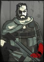 MgsV- big boss by Emanhattan
