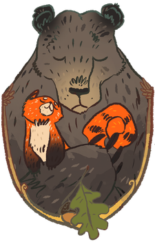 2 Bears by DeathriS