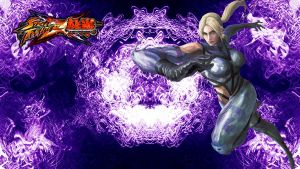 SFxT Nina Williams Wallpaper by WhiteAngel50000