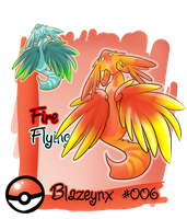 Fakemon Blazeynx by Zusuriki