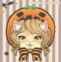 Halloween Bon Bon by Minty-Kitty-Art