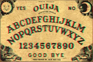 Ouija Board 3-D conversion by MVRamsey
