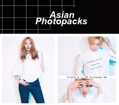 Photopack 1496 // Triple H. by xAsianPhotopacks