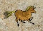 FIN-Cave-Horse-09-Palemino by NorthumbrianArtist