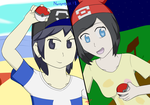 Pokemon Sun and Moon Trainers by Devilboy58