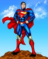 DCNu Superman colored by Balsavor