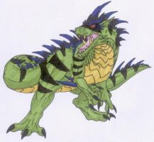 Tyrannus for CreatureLord by Scatha-the-Worm