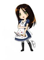Alice Liddell by MinuRoyal