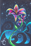 PrismaFlower Lily by Orbcreation