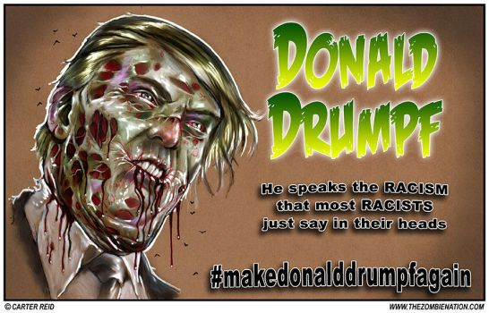 Make Donald Drumpf Again by zombiecarter