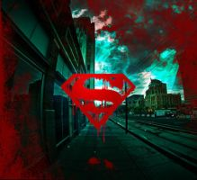 Superman Logo Cover by Eralash
