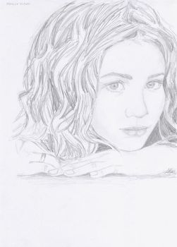 Ashley Olsen 3 by crayon2papier