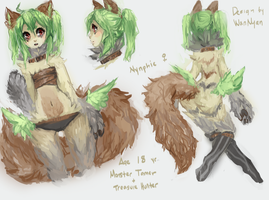 Nynphie Sketchup by twin-tail