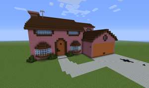 The Simpsons - Minecraft Moment by Arlen-McTaranis