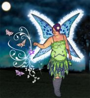 The Butterfly Queen by graphicpoetry