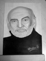 Sean Connery by DiablossArt