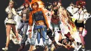 Girls of APB (All Points Bulletin) by nerfAvari