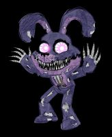 Nightmare Bonnie by AricaTuesday