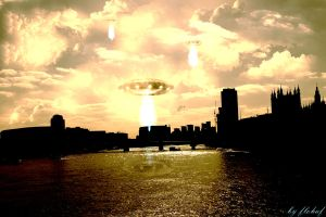 The Attack Of UFOs by flohaf