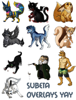 Subeta Overlays 1 by Zayger